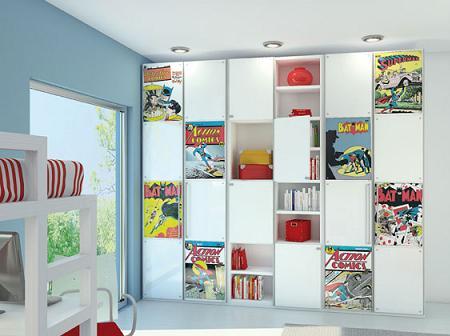 Muebles juveniles de c mic decoraci n - Vinilos conforama ...