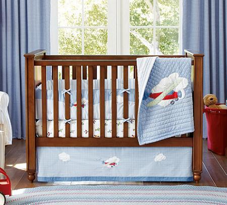 Decoraci n de dormitorios para beb s cunas y m s ideas decoraci n - Cuna de mimbre para bebe ...