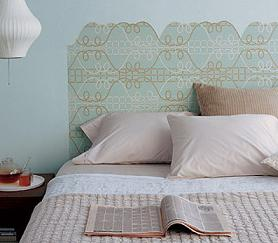 5 peque os consejos para amueblar un dormitorio peque o - Cabeceros de papel pintado ...