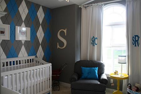 Habitaci n de beb para ni o decoraci n - Dormitorio de bebe nino ...