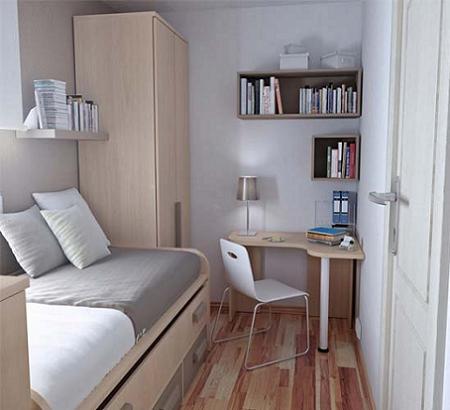 Decoraci n habitaciones juveniles peque as - Habitaciones pequenas ikea ...