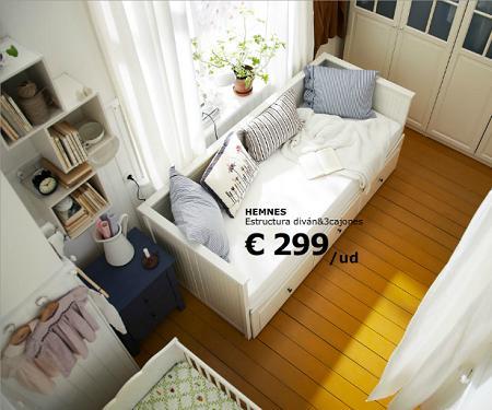 Dormitorio peque o decoraci n for Zapateros estrechos conforama