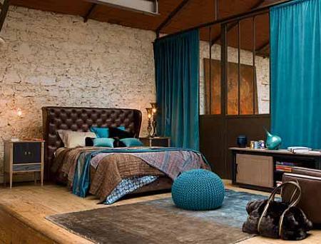 Dormitorios de roche bobois decoraci n - Dormitorios dorados ...