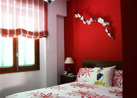 Dormitorios en rojo decoraci n - Decoracion en rojo ...