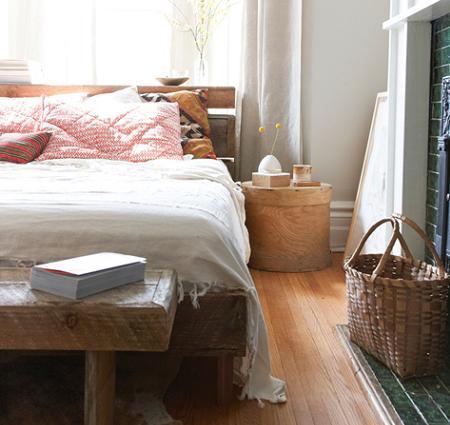 dormitorio rstico moderno