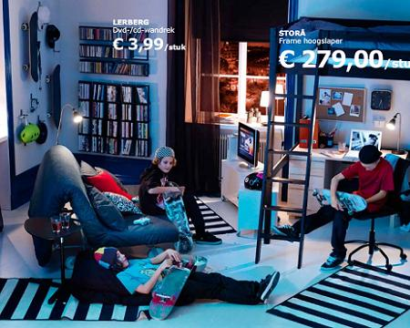 Dormitorio juvenil de Ikea