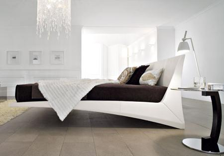 Cama de diseño, de Cattelan Italia