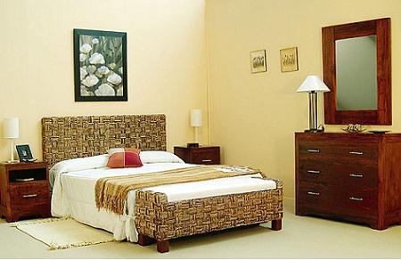 Las claves del dormitorio de inspiraci n colonial decoraci n - Decoracion de dormitorios rusticos ...