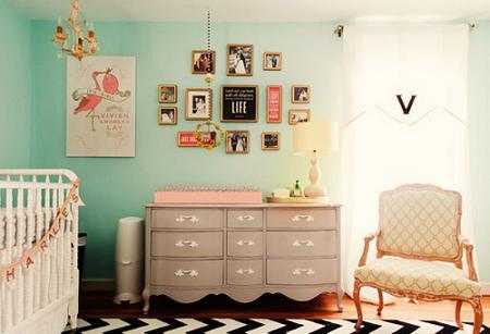 Habitaci n de beb para ni a decoraci n for Dormitorios bebe nina