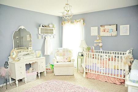 Habitaci n de beb vintage decoraci n - Decoracion vintage habitacion ...