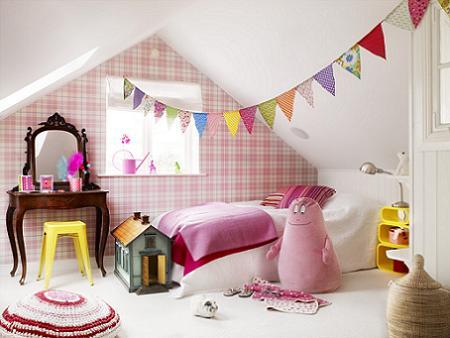 Decoraci n decorar una habitaci n de ni a - Decorar dormitorio nina ...