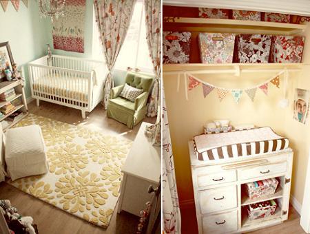 Habitaci n de beb para ni a decoraci n for Decoracion sencilla habitacion nina