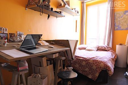 Habitación pequeña para jóvenes