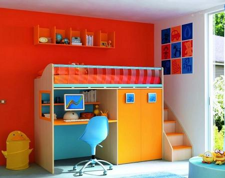 Decoraci n 10 ideas decoraci n dormitorios infantiles - Decoracion de habitacion infantil ...