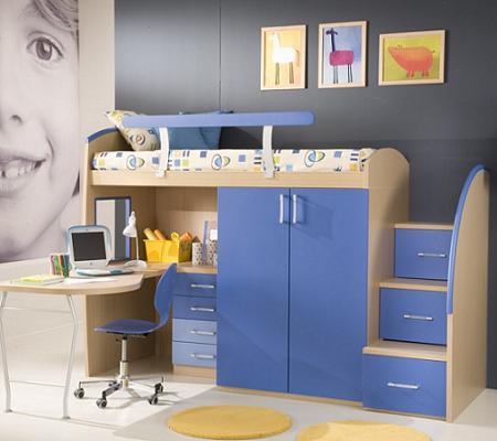Decoraci n 50 fotos de dormitorios infantiles de dise o - Dormitorio infantil original ...