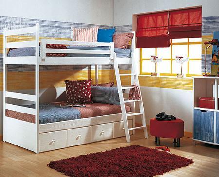 Fotos de dormitorios infantiles muy inspiradores con ideas para decorar decoraci n - Dormitorios infantiles pequenos ...