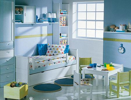 Decoraci n fotos de dormitorios infantiles muy - Colores para habitaciones infantiles ...