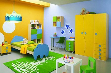 Decoraci n 50 fotos de dormitorios infantiles de dise o for Dormitorio ninos diseno