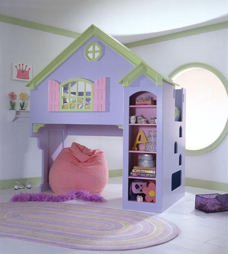 Decoraci n cuartos de ni os muebles divertidos y originales - Habitaciones originales para ninos ...