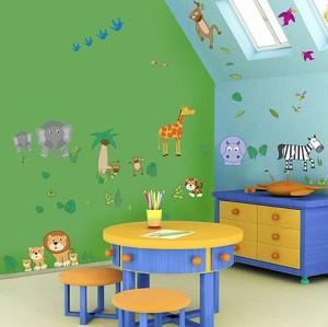 Decoraci n ideas para la pintura de la habitaci n infantil - Pinturas habitaciones infantiles ...