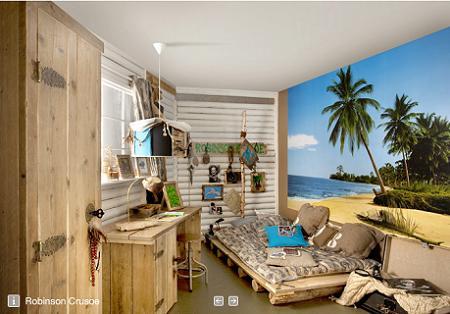 Habitaciones para ni os muy originales decoraci n - Habitaciones ninos originales ...