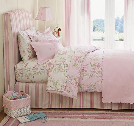 Decoración de dormitorios infantiles, tipo princesa!