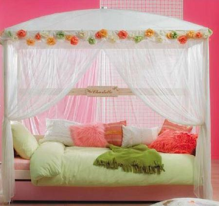 Ideas para decorar un dormitorio para ni a tipo princesa - Dormitorios de princesas ...