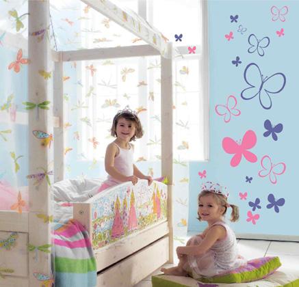 Ideas para decorar un dormitorio para ni a tipo princesa decoraci n - Decoracion dormitorio nina 2 anos ...