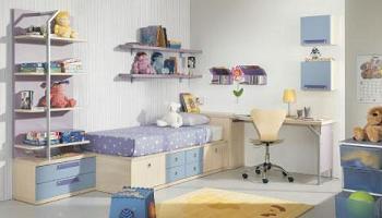 Ideas para mantener el orden en los dormitorios infantiles - Dormitorios con poco espacio ...