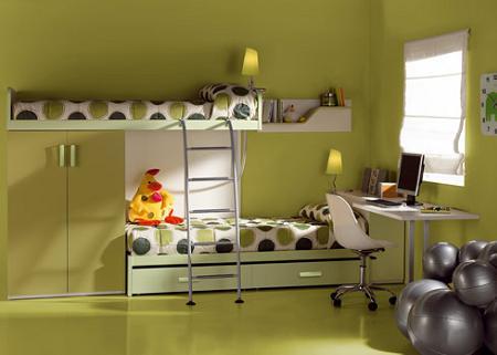 Literas para dormitorios infantiles, la solución para ahorrar espacio