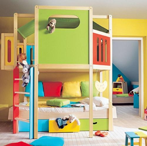 literas muy modernas para dormitorios infantiles decoraci n. Black Bedroom Furniture Sets. Home Design Ideas