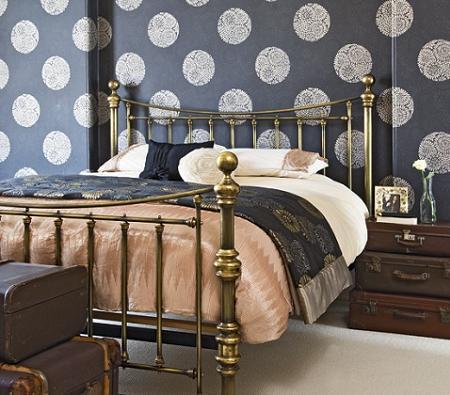 Decoración dormitorio gris
