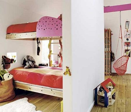 Dormitorio infantil original habitacin infantil eclctica - Dormitorio infantil original ...