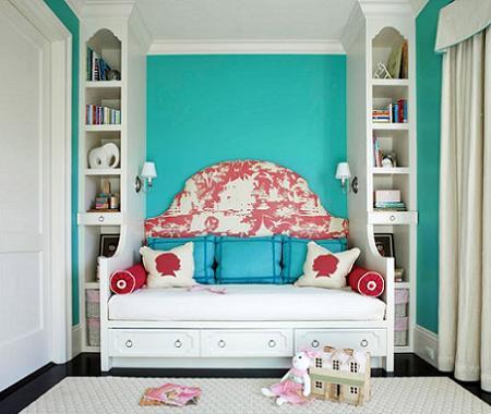 Decoraci n pintar la habitaci n infantil for Colores para habitacion infantil