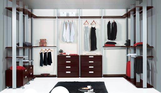 Baños Vestidores Modernos:medida que pasan los años, vemos como la cantidad de objetos, ropa
