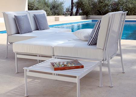 Muebles en aluminio dise os arquitect nicos for Muebles de exterior aluminio