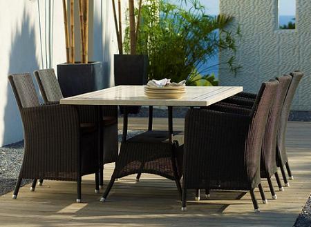 Comedores de jard n mesas y sillas decoraci n page 2 for Comedores para jardin