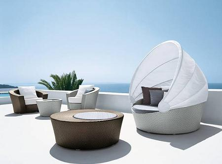 Muebles de dise o para el jard n de dedon decoraci n for Mobiliario para el jardin