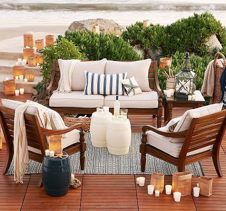 Muebles de madera para tu jard n o terraza decoraci n - Muebles de teca para jardin ...