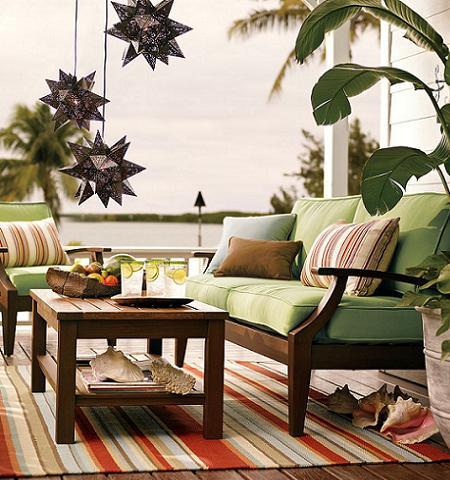 Muebles de madera para tu jard n o terraza decoraci n for Sofa de madera para terraza