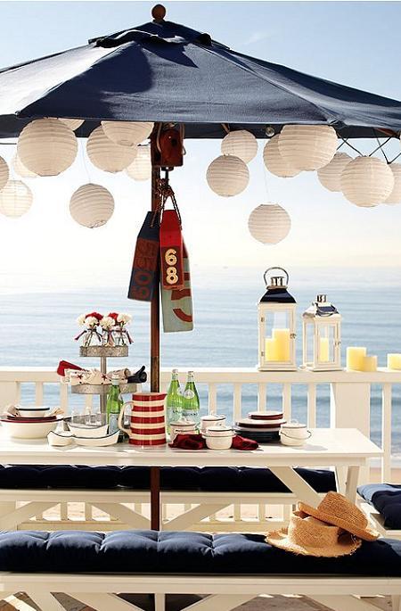 Decoraci n vajillas de verano ideales para poner la mesa for Decoracion verano jardin infantil