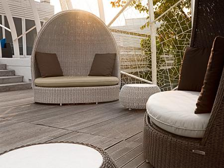 Muebles de jard n de ratt n pictures to pin on pinterest for Muebles ratan jardin