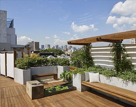 Ideas para decorar una terraza urbana – Decoración