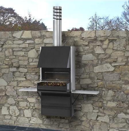 Decoraci n 5 barbacoas de dise o para tu terraza 2009 for Parrillas para casas modernas