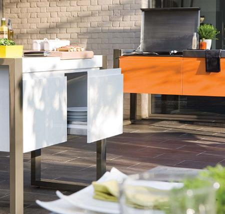 Muebles de cocina para tu terraza decoraci n for Cocinas en terrazas