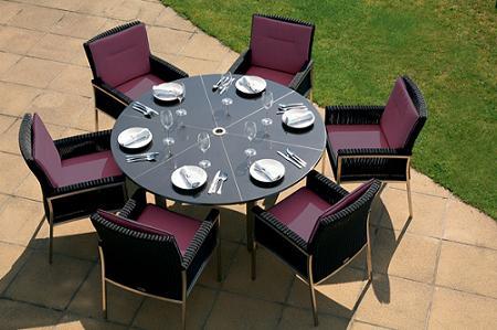 21 fotos de conjuntos de mesa y sillas para crear un for Mesas y sillas de terraza alcampo