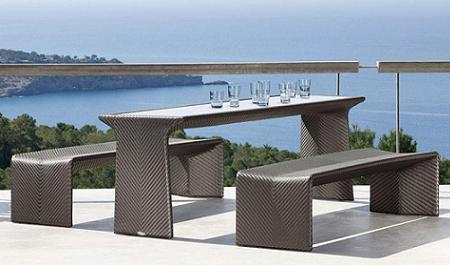 Decoraci n 21 fotos de conjuntos de mesa y sillas para for Dedon muebles