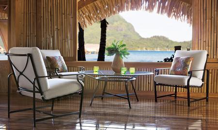Decoraci n 34 muebles de aluminio para tu terraza o jard n for Fabrica de muebles de jardin en aluminio
