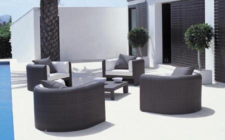 50 muebles de rattan para tu terraza o jard n verano 2009