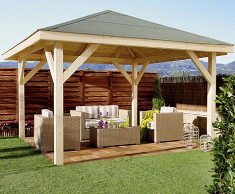 D nde puedo comprar p rgolas de madera baratas decoraci n for Ideas para terrazas baratas